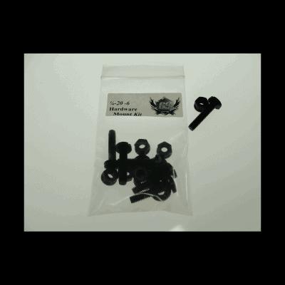 1/4 20 6pc Mounting Kit