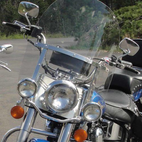 Harley Davidson | Heritage/Fat Boy | Windshield 1994-1999 | Fits Non Detachable Brackets