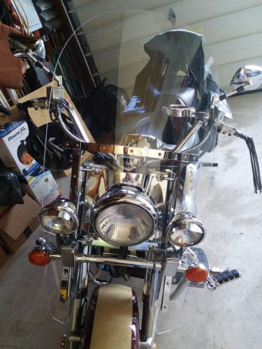 Intruder C90 Windshield | 1500 Classic Windshield Replacement | Through 2012 photo review