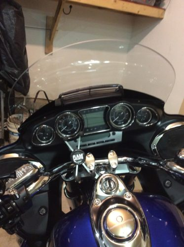 Kawasaki Voyager 1700 Vaquero Windshield   Windscreen photo review