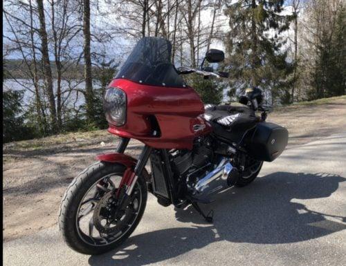 Harley Davidson | FXRP 1984 Newer & FXRT 1983-85 | Motorcycle Windshields photo review
