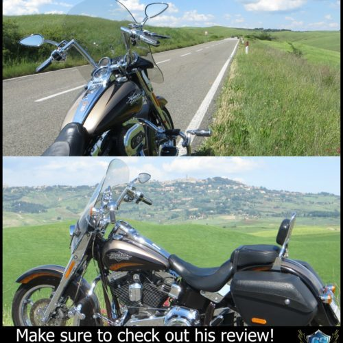 Harley Davidson | CVO Softail Convertible Windshield