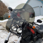 Harley Davidson | Fat Bob Quick Release Compact Windshield