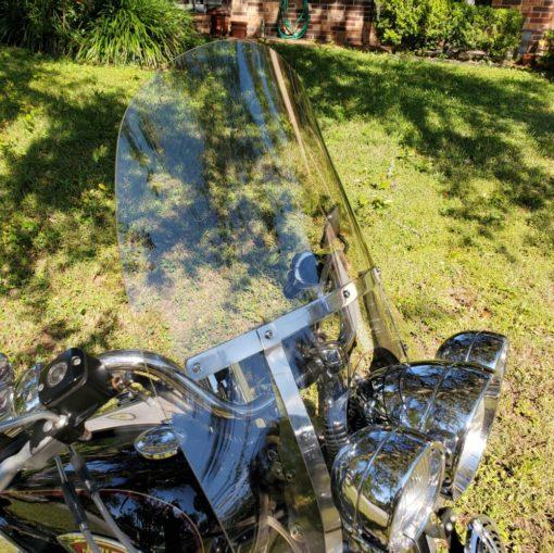 Harley Davidson Heritage Springer King Size Windshield LT Gray 17