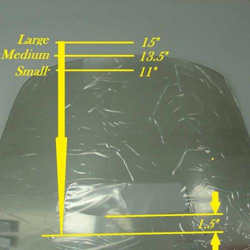 Honda ST1300 Replacement Windshield