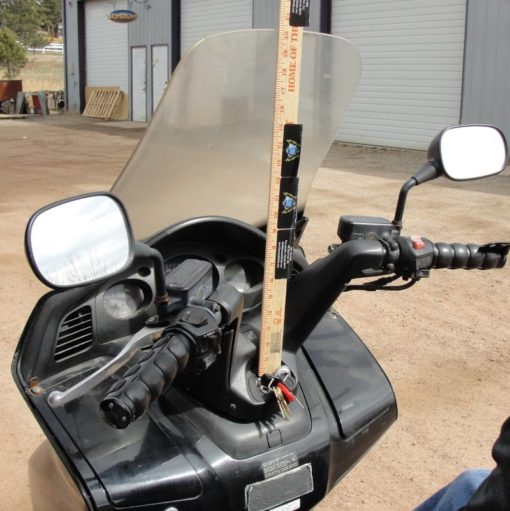 Honda Silverwing Windshield Measuring