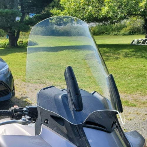 Honda ST1300 Replacement Windshield photo review