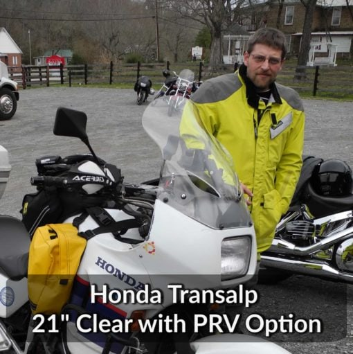 Honda Transalp Windshield 21
