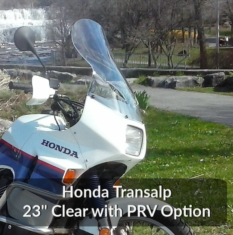 Honda Transalp Windshield 23_