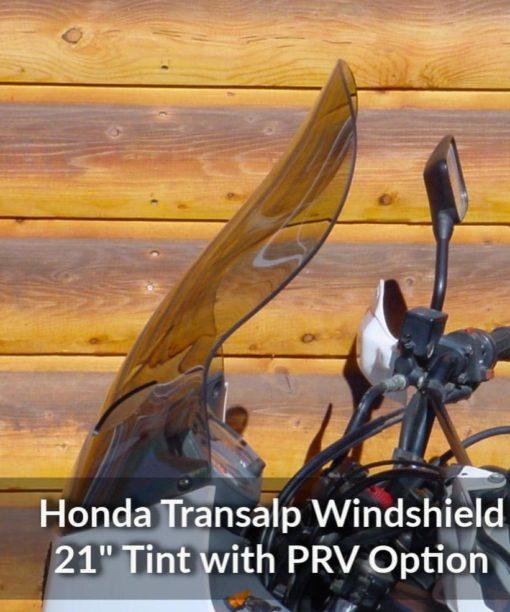 Honda Transalp Windshield Bronze