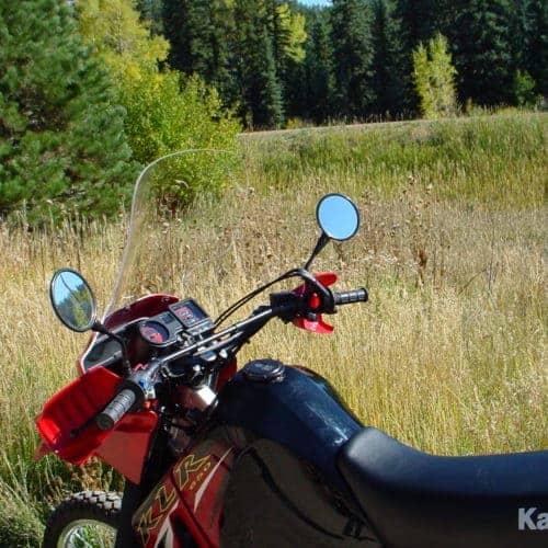 Kawasaki KLR650 Windscreen (2007 and earlier)