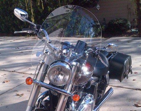 Triumph America Windshield