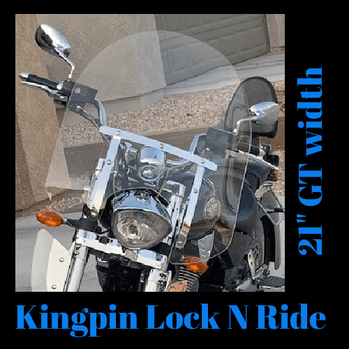 Victory Kingpin Lock N Ride Windshield 1