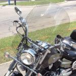 Yamaha Vstar windshield 1100