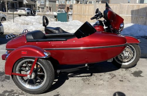 Harley Davidson | Sidecar RLE with 7 Hole Mount | Replacement Windshield photo review