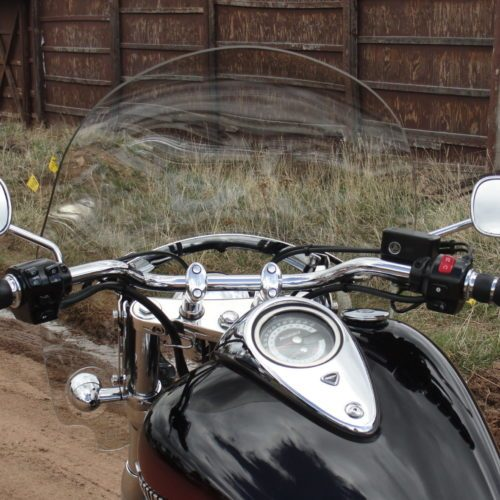 Thunderbird 1700 & 1600 Quick Release Roadster Windshield