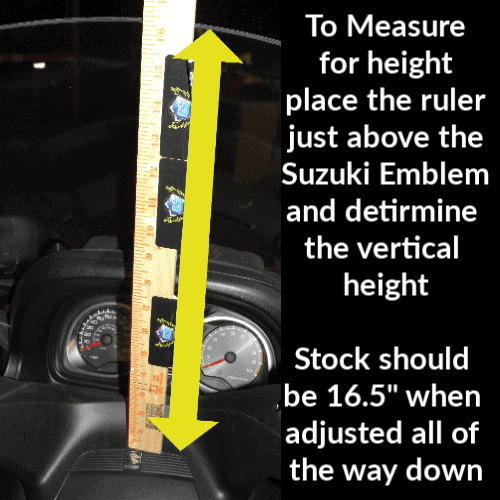 Suzuki Burgman 650 Windshield 2013 Measurement (1)