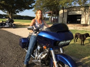 2015 Road Glide Review - Mary
