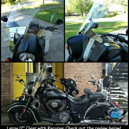 Indian Chief Dark Horse Replacement Windshield