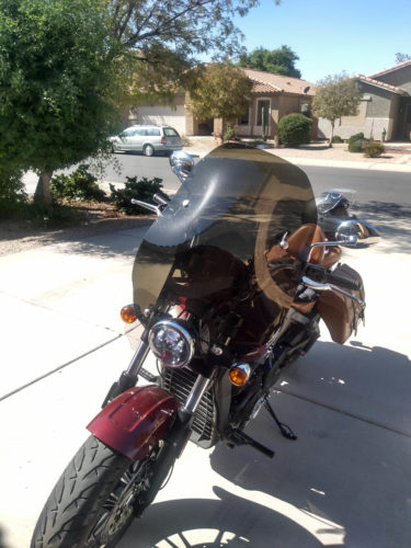 Indian Scout Quick Release Replacement Windshield 2015-Present photo review