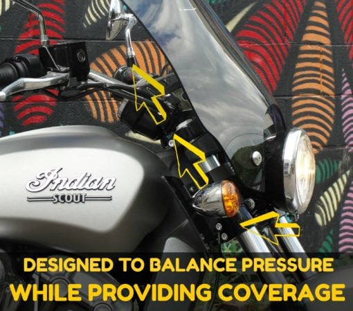 Indian Scout Windshield fork lower air balance