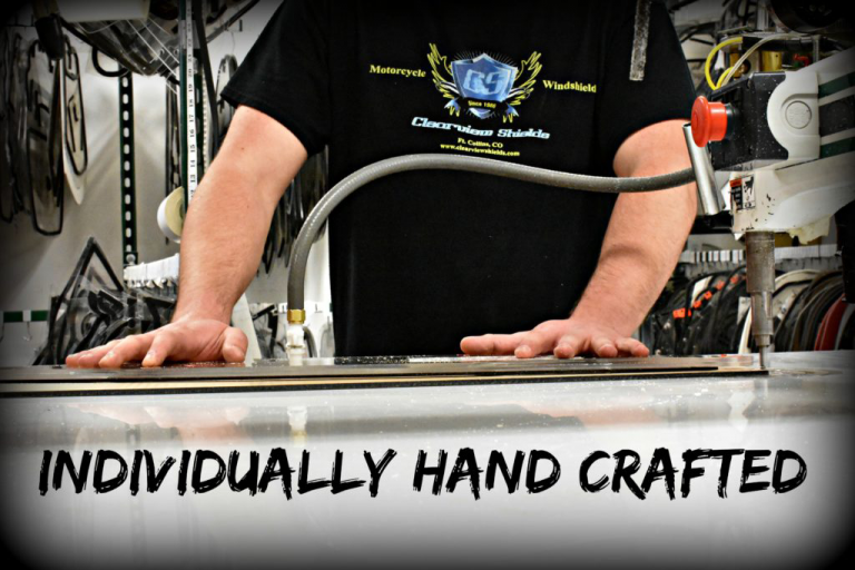Clearview Shields are individually hand-crafted