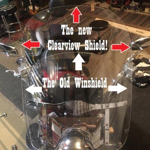 Kawasaki Vulcan 1600 Windshield   Classic   Replacement photo review