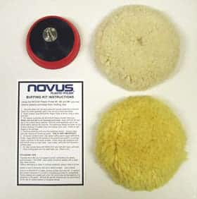 Novus Buffing Kit for Motorcycle Windshields