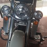 Harley Davidson | Softail Deluxe/Heritage/Fat Boy Windshield fits Nostalgic HD Detachable Brackets | 1988-2017