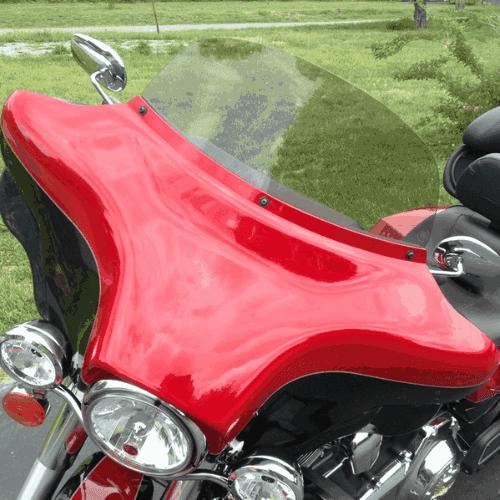 Harley Davidson Motorcycle Windshields