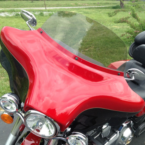 Electra Glide/Street Glide/Tri-Glide/Limited Motorcycle Windshields 1996-2013