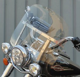 Harley Davidson | Heritage Softail 2000-2019 | Deluxe Nostalgic Detachable King Size Brackets | 1986-2017