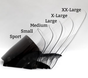 Harley Davidson Road Glide Windshield sizes