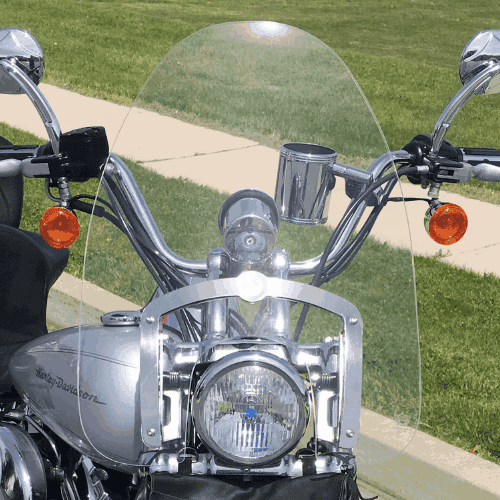 Harley Davidson Softail Duece windshield