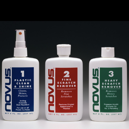 Novus Cleaning Kit: #1, #2, #3 8oz Bottles