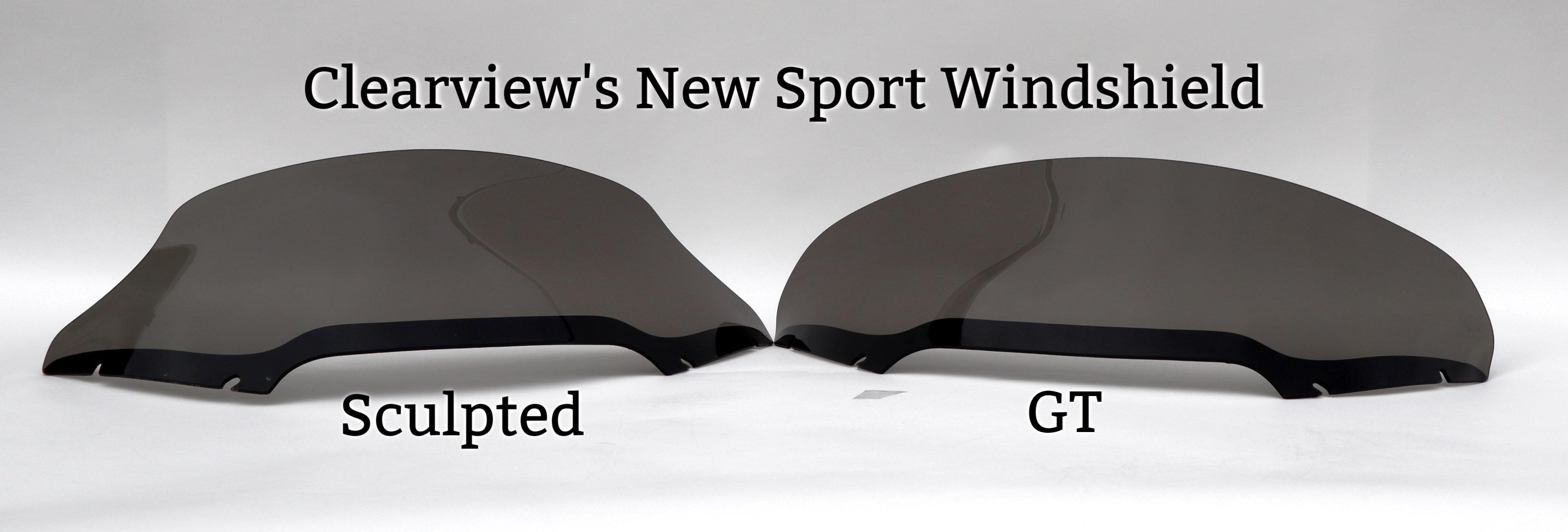 Road Glide Windshield Sport size