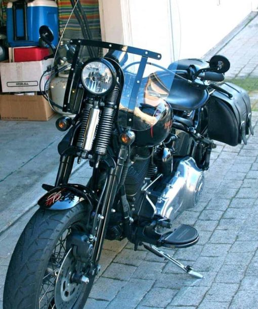Harley Davidson | Cross Bones FLSTSB | Replacement Windshield