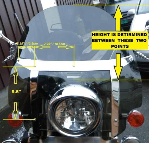 Honda Valkyrie STD/ and Tourer Replacement Windshields 1996-2003