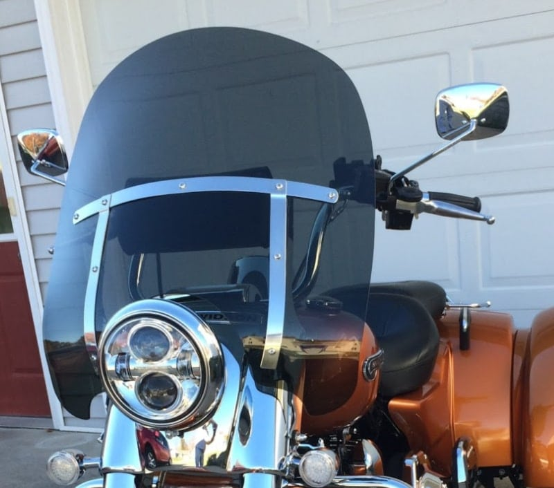 Harley Davidson Freewheeler Windshield