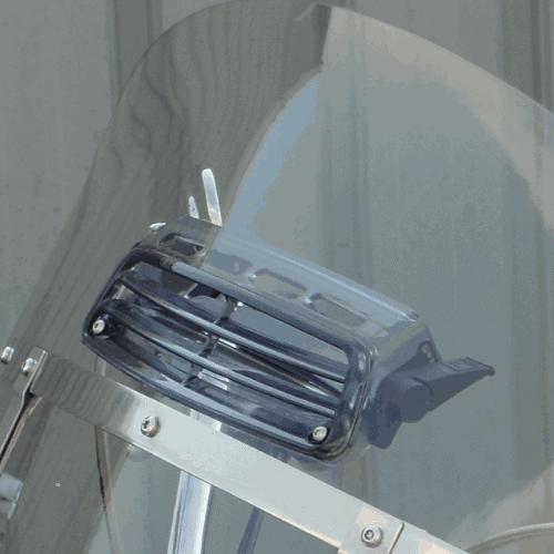 Harley Davidson Springer Windshield | Fits HD Detachable Compact Brackets