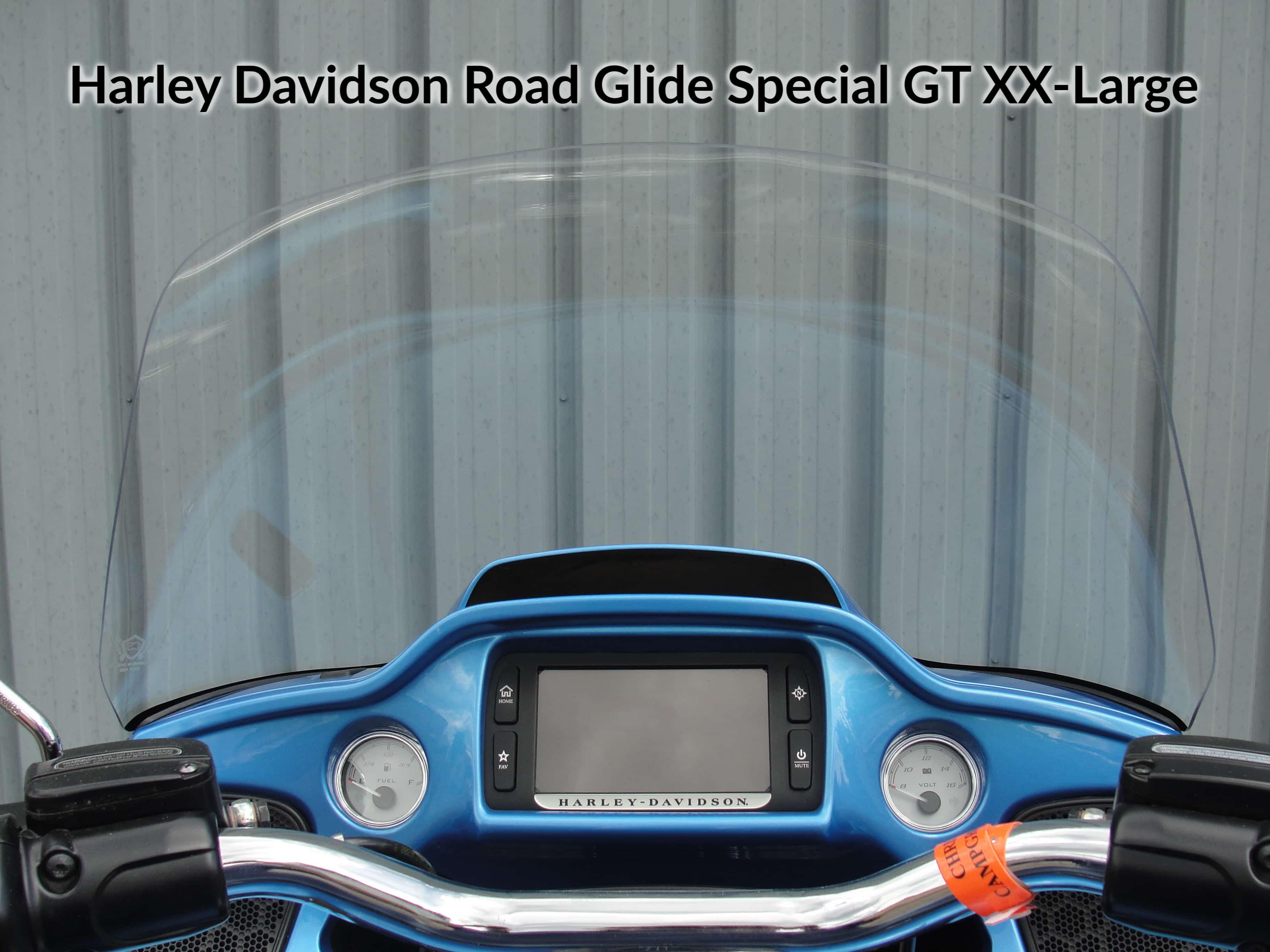 Harley Davidson Road Glide Windshield GT XX-Large