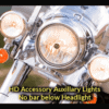 Harley Davidson | Heritage Softail 2000-2019 | Detachable King Size Brackets | 1986-2017