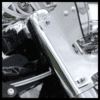 Harley Davidson Springer Windshield | Fits HD Detachable Compact Brackets