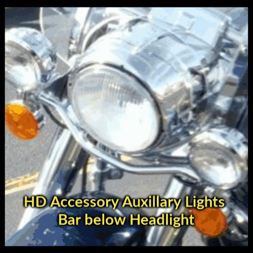 Road King | Harley Davidson Replacement Windshield (5 Holes Across Horizontal Bracket)