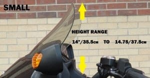 Honda F6B Replacement Windshield