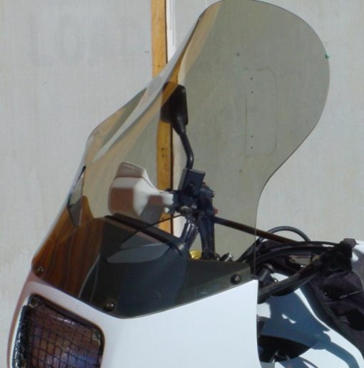 Honda Transalp Windshield Gray