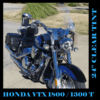 "Honda VTXT 1800/1300 ""T"" Tourer Replacement Windshield 2007-2009"