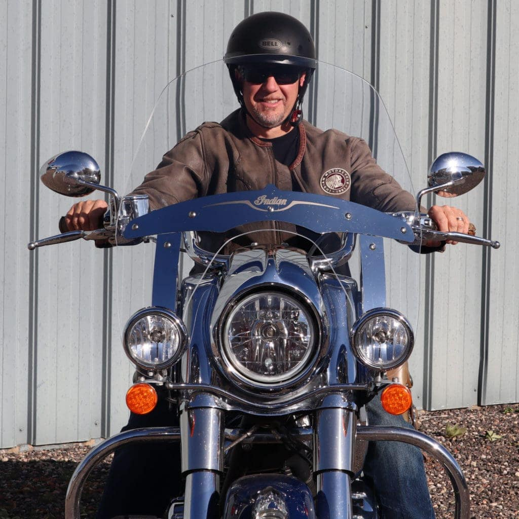 Indian Chief Vintage Windshield Daily commuter