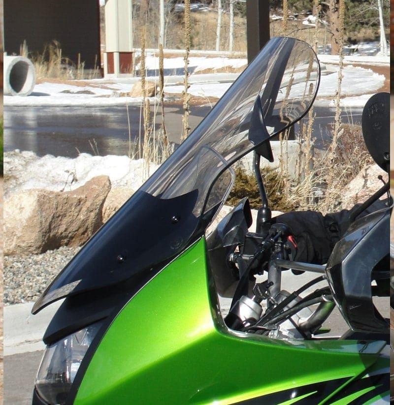 Kawasaki KLR 650 windshield