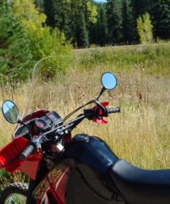 KLR650 Windscreen (2007 and earlier)